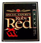 G. Heileman SPECIAL EXPORTs RUBY RED EX beer label WI  12oz