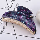 Womens Large Plastic Grip Hair Claw Hair Clip Girls Hairpin Crab Claw Jaw Clamp