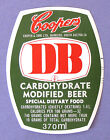 Cooper & Sons Ltd COOPERS DB beer label So.AUSTRALIA 370ml
