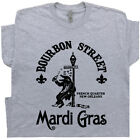 Mardi Gras T Shirt New Orleans Vintage Beer Famous Bar Pub Alligator Band Tee