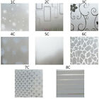 Waterproof Glass Frosted Home Window Privacy Self Adhesive Film Sticker Decor US
