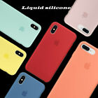Premium Liquid Silicone Case Fit Apple iPhone XS Max XR XS X 8  Hard Shell Cover