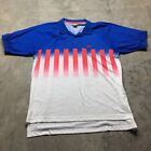 90s VTG NIKE AIR Tech CHALLENGE COURT Neon Polo ANDRE AGASSI Tennis XL Shirt