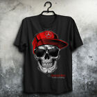 Mercedes Skull Funny - Man' US shirt Size S to 4XL -Funny T shirt image