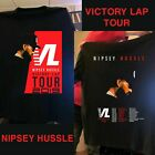NIPSEY HUSSLE VICTORY LAP TOUR 2019 T SHIRT BLACK ALL SIZE image