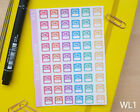 Weight Loss Stickers - Planner Diary Journal Scrapbook Stickers Slimming Diet