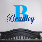 Custom Name Wall Decal Bedroom Decor Nursery Removable Removable Vinyl Sticker