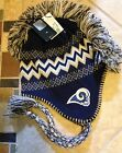St. Louis NFL Rams Mohawk Knit & Fleece Hat NWT $28