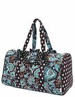 Quilted monogrammable duffle bags large Belvah brand