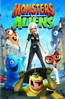 Monsters vs Aliens DVD, NO CASE.  NO ARTWORK.