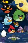 ANGRY BIRDS POSTER ~ SPACE BIRD SQUADRON 22x34 iPHONE APP Video Game 5459