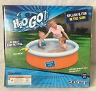 """H2O GO! 5'x5'x15"""" My First Fast Set One Pool Green Ages 2+ Bestway New In Box"""