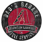 Fan Creations MLB Dad's Garage Graphic Art Print on Wood on Ebay