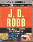 Thankless in Death by J D Robb (#37) Susan Ericksen Unabridged MP3 Audio Book