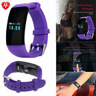 Bluetooth Smart Watch Bracelet Heart Rate Monitor for Women Girls Samsung LG