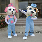 Hot Adults New Year Dog Mascot Costume Fancy Dress Christmas Party Game Outfits