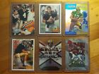 X6 BRETT FAVRE 1991 ROOKIES RC LOT & AARON RODGERS REFRACTOR PACKERS QBS LOT !!