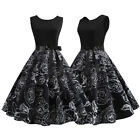 Womens 50s 60s Hepburn Rockabilly Vintage  Evening Party Pinup Dress Cocktail $11.01 USD on eBay