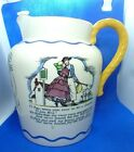 "VINTAGE LARGE ROYAL DOULTON  ""SEA SHANTY JUG"" NAUTICAL CREAMER PITCHER JUG"