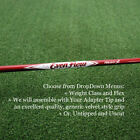 Project-X-EvenFlow-MAX-CARRY-Red-Driver-Shaft-Uncut-or-w-Adapter-Tip-Grip-NEW