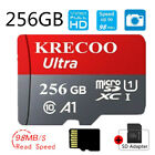 256GB 128GB 64GB A1 98MB/S Micro SD Card Class10 UHS-1 Memory Card  w/ Adapter