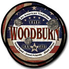 Woodburn Family Name Drink Coasters - 4pcs - Wine Beer Coffee & Bar Designs