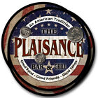 Plaisance Family Name Drink Coasters - 4pcs - Wine Beer Coffee & Bar Designs