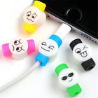 3x Wire Protector Saver Cover For Smart Phone 6s 7plus USB Charger Cable Cord TB