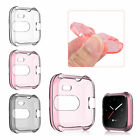 For Fitbit Versa Lite Watch Soft TPU Screen Protector Protect Frame Case Cover