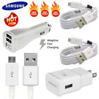 Original Fast Car Wall Charger Cable for Samsung Galaxy S7 S6 Edge Note 5 Note 4