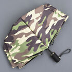 Compact Folding Sun Rain Umbrella Travel Parasol Portable Windproof Camouflage