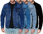 Kyпить Men's Red Label Premium Faded Denim Cotton Jean Button Up  Slim Fit Jacket на еВаy.соm