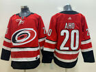 New AD Men's Carolina Hurricanes #20 Sebastian Aho Red Home Hockey Jersey $48.89 USD on eBay