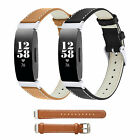 For Fitbit Inspire/Inspire HR Leather Watch Bands Replacement Wristband Straps