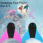 Kids/Adult Swimming Mermaid Diving Monofin Swimmable Tails Fins Training Flipper