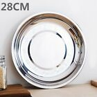 Внешний вид - Camping Stainless Steel Tableware Dinner Plate Dish Food Container Tray 7Sizes