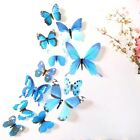 12 pcs 3D Butterfly Wall Stickers Art Decal Home Room Decorations Decor Kids E