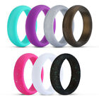 Kyпить 7 Colors Silicone Ring Wedding Rubber Women Workout Band Flexible Crossfit Thin на еВаy.соm