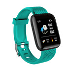 Green Waterproof Bluetooth Smart Watch For IOS Android iPhone Samsung Huawei
