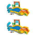 Intex Dinosaur Play Center Inflatable Kiddie Swimming Pool | 57444EP (2 Pack)