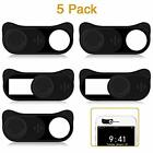 Webcam Webcams Cover Slide 5 Pack 0.027in Ultra Thin Cute Camera For IPhone IPad