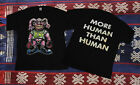 NEW!!Vintage Rare White Zombie 90s More human Than human Tour T-shirt REPRINT image