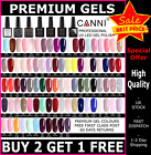 Premium Nail Gel Polish 7.3ml UV LED Set CANNI Colour Varnish Glitter 37K SOLD