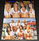 LOT (2) TILTED KILT sexy hooters babes 4x6 GLOSSY PHOTO SET ~ amateur candid #D2