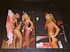 LOT (2) TILTED KILT sexy hooters babes 4x6 GLOSSY PHOTO SET amateur candid #D11
