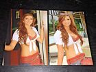 LOT (2) TILTED KILT sexy hooters babes 4x6 GLOSSY PHOTO SET amateur candid #D13