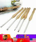 Wood Lathe Chisels Set Woodworking Carving Woodturning Tools Heat Resistance USA