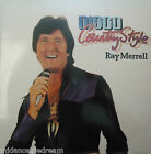 RAY MERRELL - Disco Country Style ~ VINYL LP SIGNED