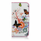 Luxury PU Leather Credit Card Slot Hard Full Case Cover Stand For HTC ONE M8