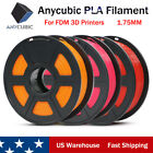 Kyпить US New ANYCUBIC 1.75mm PLA Filament 1KG for FDM 3D Printers Mega Chiron Kossel на еВаy.соm